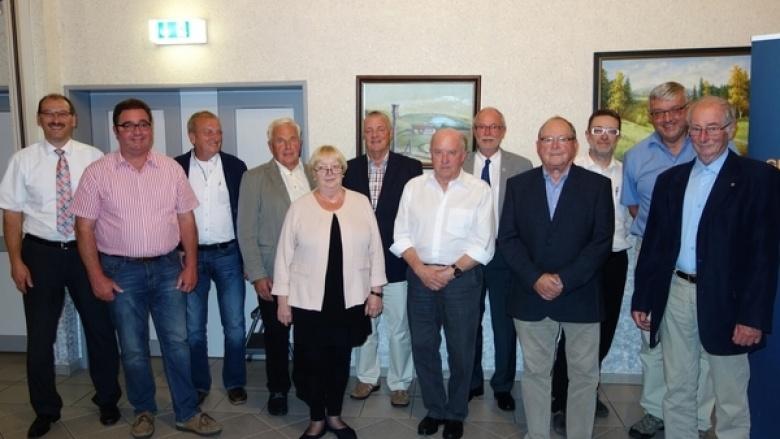 Mitgliederversammlung mit Mitgliederehrung